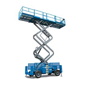 Sakselift Diesel-Hybrid - Genie GS 5390RT