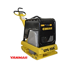 Cimar CPC-350 Diesel Hydraulisk Vibroplate 350 kg