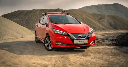 Vintersalg på Nissan Leaf