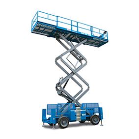 Sakselift Diesel-Hybrid - Genie GS 4390RT